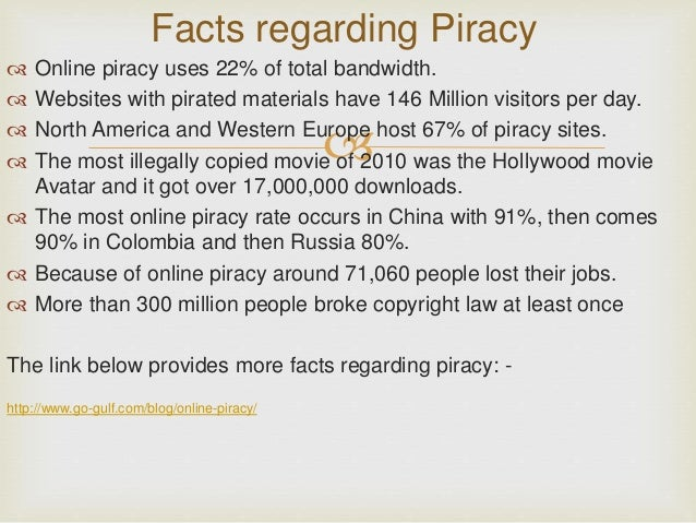 Internet piracy essay
