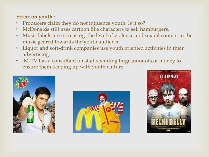 advertising affecting youth