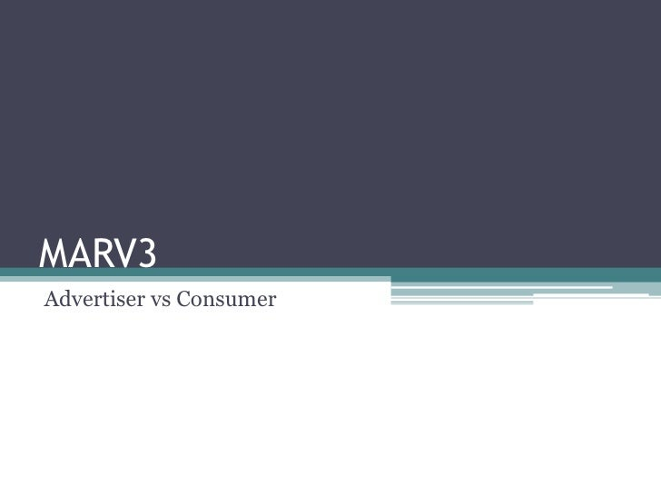 MARV3<br />AdvertiservsConsumer<br />