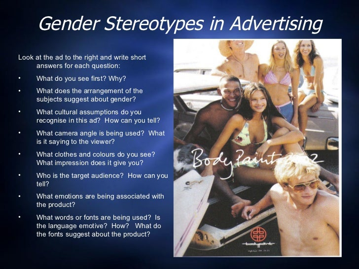 sexuality in marketing They wanted us to answer this: 'sex sells, but what about sexuality' i joined with   explore the best jobs in marketing and media industries.