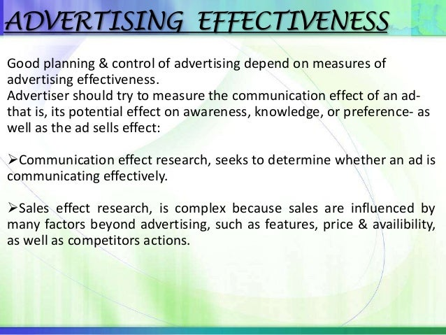 advertising advancements com ii essay