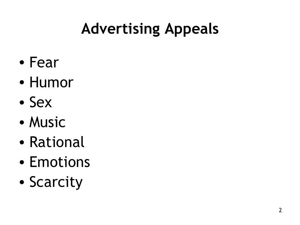 Advertising Appeals) by vijay