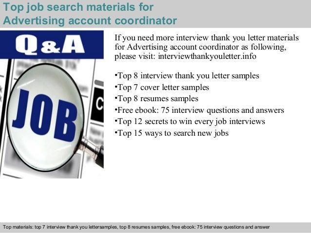 Advertising account coordinator