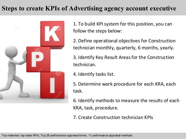 Advertising agency account executive kpi