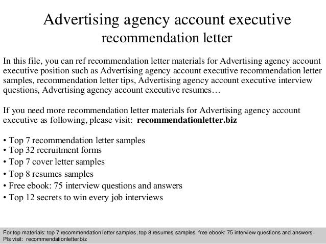 advertising account executive. executive mba resume examples ...