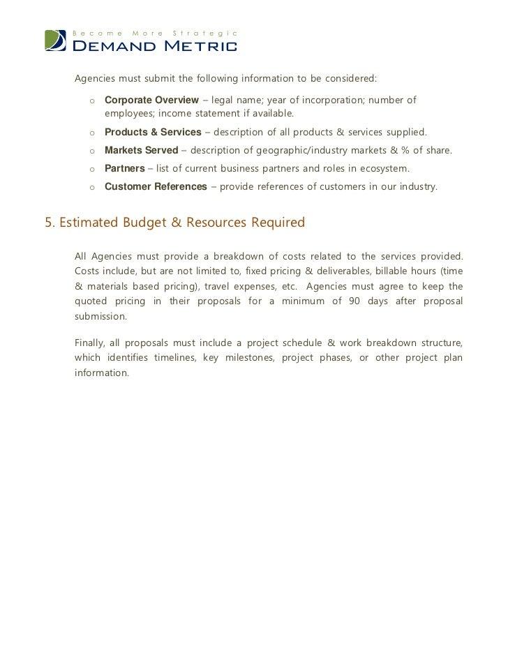 Advertising Agency Proposal Examples Romeondinez