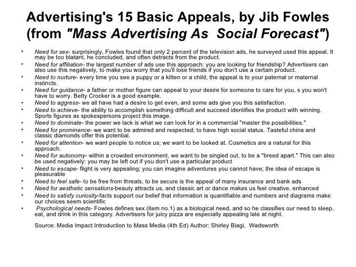 JIB FOWLES 15 APPEALS EPUB
