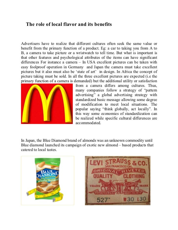 Thesis advertising and culture