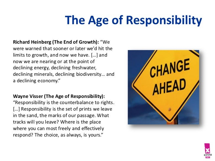 what is the age of responsibility
