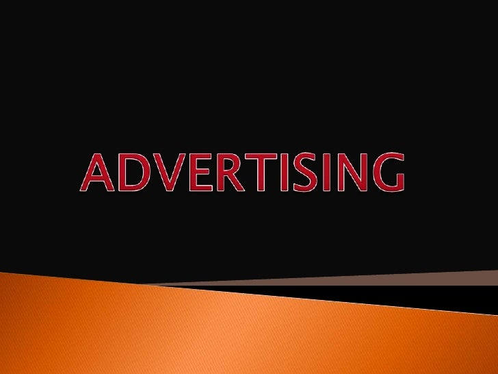  Introduction Definition History of advertising David Ogilvy Medium of advertising Advertising agencies Print adver...