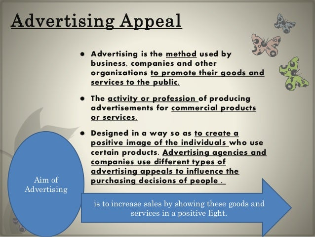 what is advertising used for
