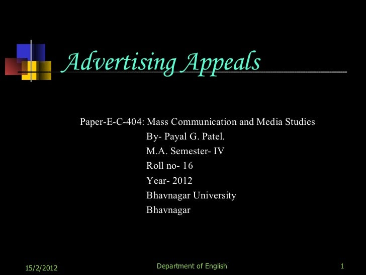 the sex appeal in advertising media essay Sex in advertising is the use of sex appeal in advertising  the book is a visual essay about sex roles in advertising and  sex sells: the media's journey.