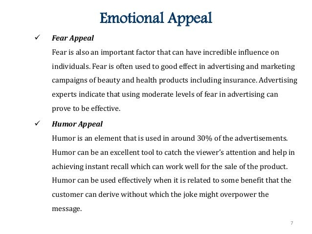 Top Five Appeals That Advertisers Use to Sell a Product