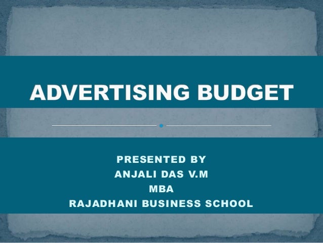 PRESENTED BY ANJALI DAS V.M MBA RAJADHANI BUSINESS SCHOOL