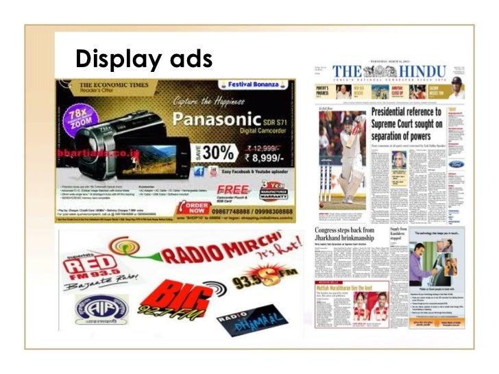 advertising classification