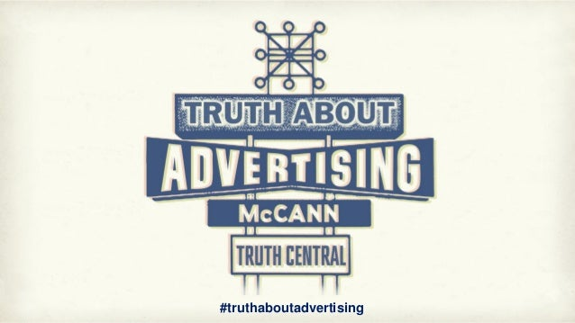 #truthaboutadvertising