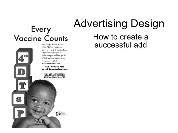 Advertising Design How to create a successful add