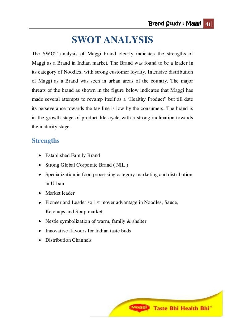 [Case Memo] Nestle India Limited: Maggi Noodles at War ...