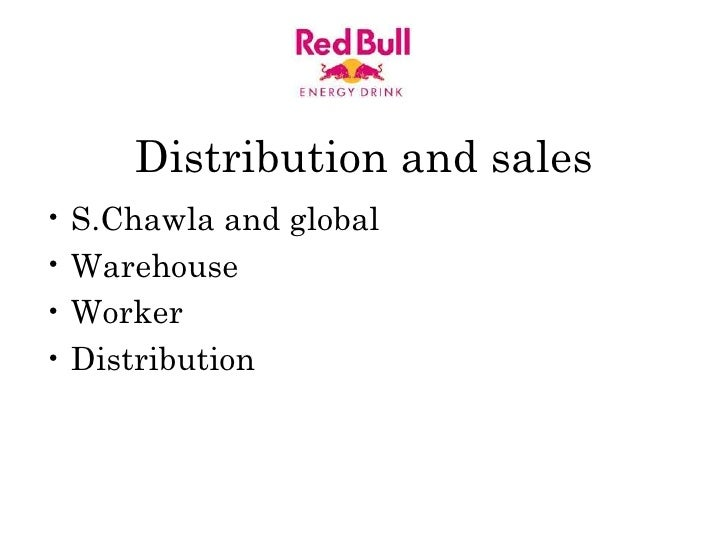 Red Bull Presentation For Advertising