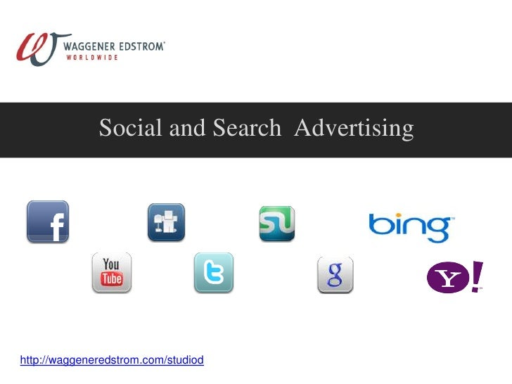 Social and Search Advertising