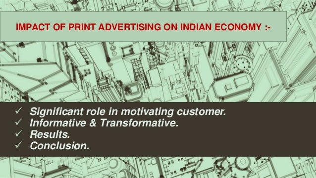 effects of advertising on indian society Commercial advertising is a pervasive force in contemporary society each day, we are bombarded by advertisements from companies persuading us to buy their products.