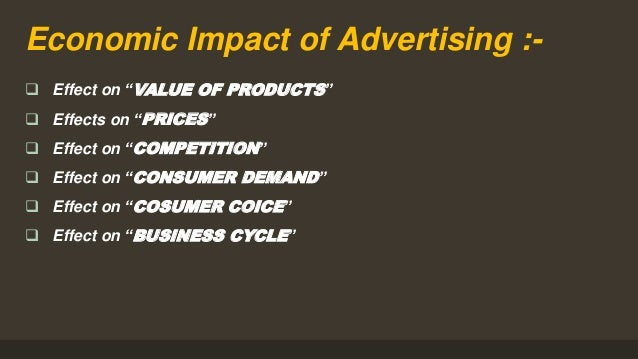 how advertising affects demand