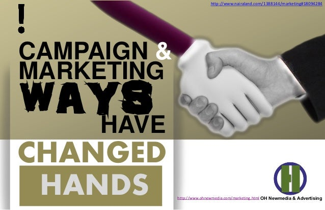 HANDS MARKETING CHANGED wAYSHAVE OH Newmedia & Advertising CAMPAIGN & http://www.nairaland.com/1388144/marketing#18094284 ...