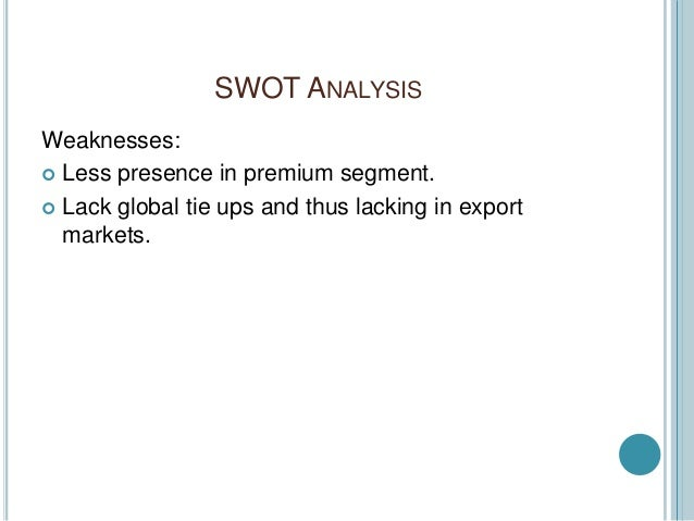 shui fabrics swot analysis One of the vast and gleaming toads with precious heads which at a button's press, since 2007.