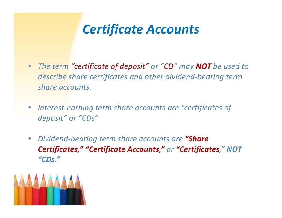 Certificate Of Deposit Benefits Choice Image Creative Certificate