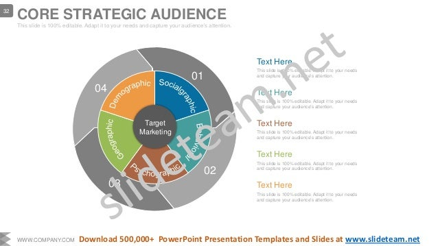 Text Here This slide is 100% editable. Adapt it to your needs and capture your audience's attention. Text Here This slide ...