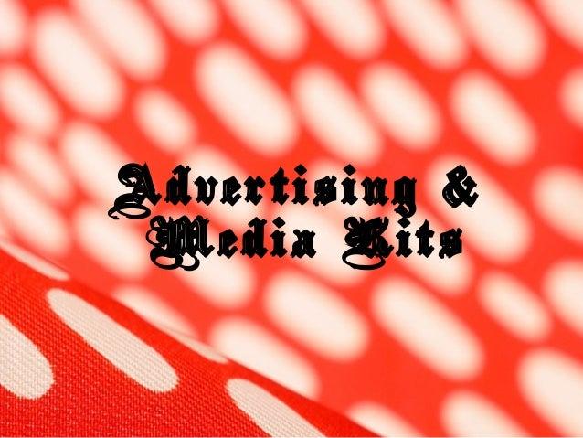 Advertising & Media Kits