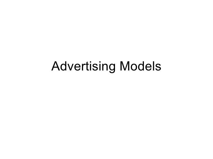 Advertising Models