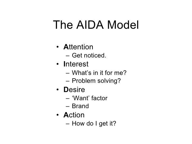 aida and dagmar models of advertising Aida model & dagmar model sachin patel b  this model was entitled 'defining advertising goals for measured advertising results- dagmar'.