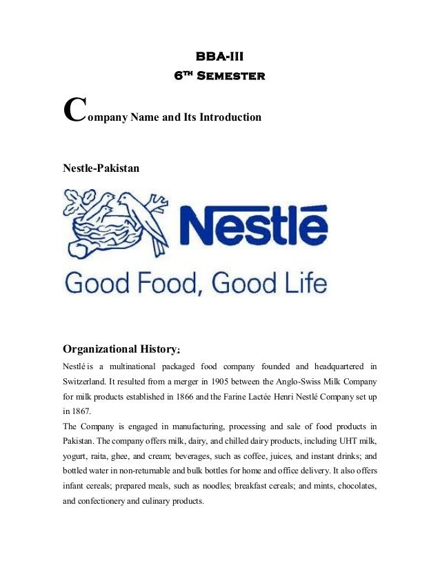 Advertising Plan Nestle