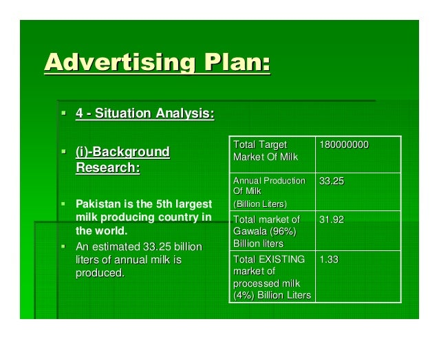 the dairy industry of pakistan marketing essay The livestock sector contributed 59% to the gdp in 2005, the dairy industry accounting for over 30% of the livestock sector milk imports are around 2 - 3% of the total consumption while cost of imports of dairy products amounted to 77 million us$ in 2009.