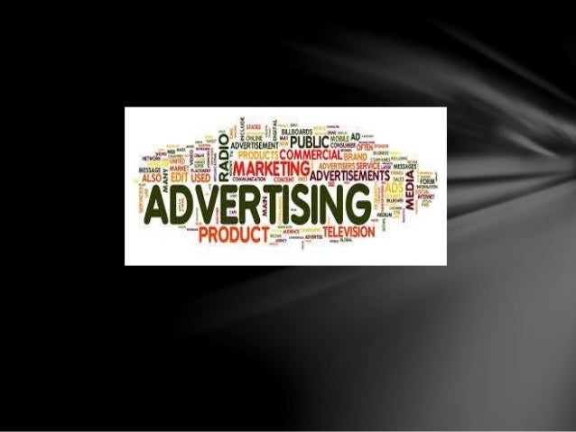 Introduction:- Advertising is a form of marketing communication used to encourage, persuade or manipulate an audience to t...