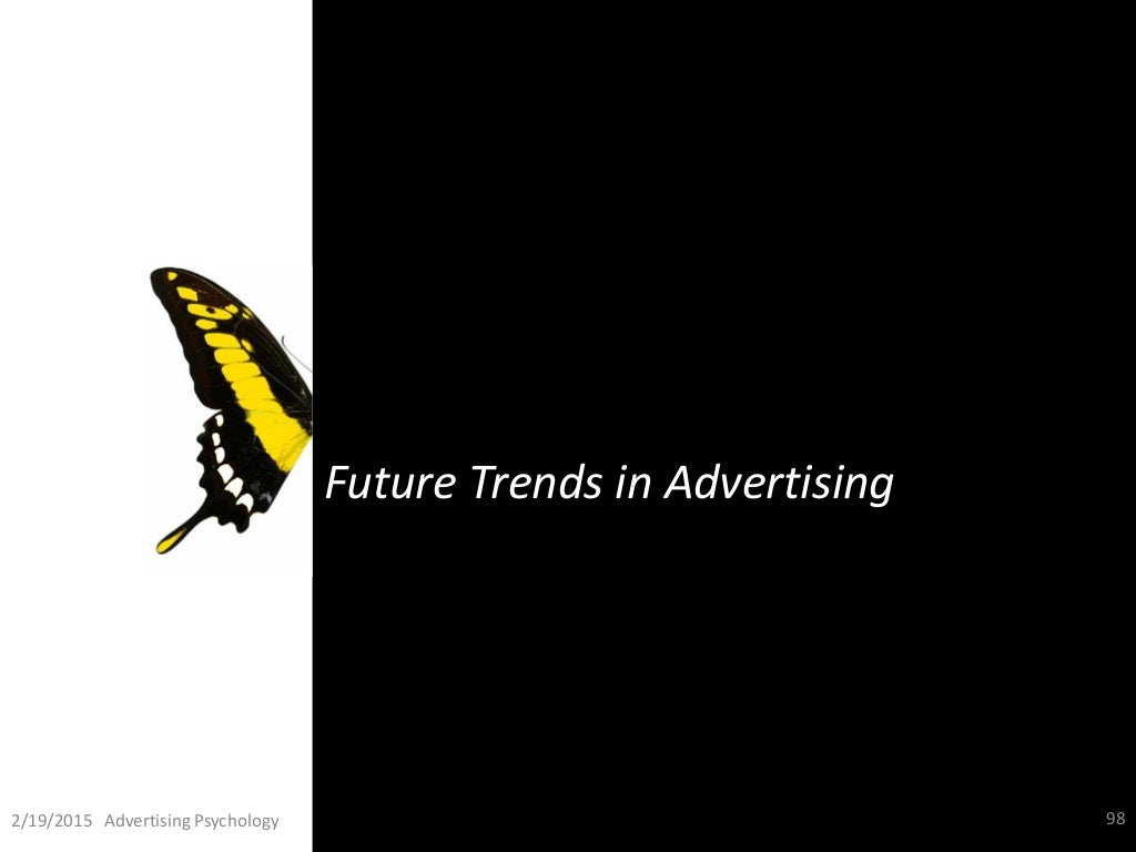future trends in advertising pdf Automotive marketing future trends: white paper  investing in a marketing platform that employs artificial intelligence goes beyond merely future-proofing the dealership's marketing.
