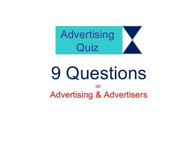 Advertising Quiz