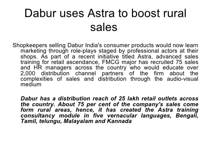 Advertising & Sales Promotional Strategies In Rural Market