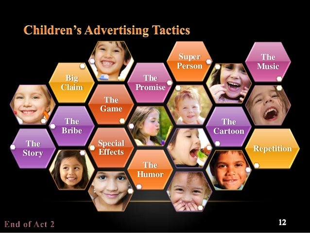 the attack of television commercials and advertisements on children Ethical problems of advertising to children affect children with their television commercial consideration of the questions of advertising to children.