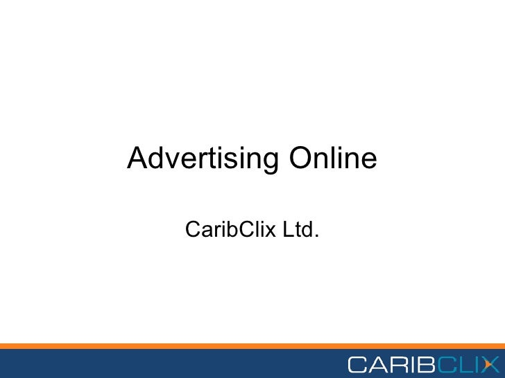 Advertising Online CaribClix Ltd.