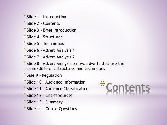 *Contents *Slide 1 – Introduction *Slide 2 – Contents *Slide 3 – Brief Introduction *Slide 4 – Structures *Slide 5 – Techn...