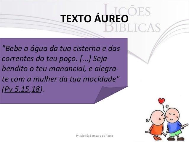 Advertências contra o adultério Slide 2