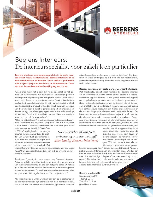 Advertorial beerens interieurs vivace magazine oktober 2014