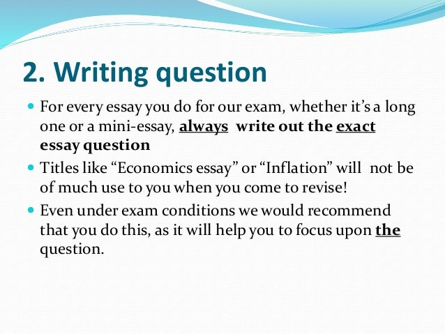 Doubt Essays (Examples)