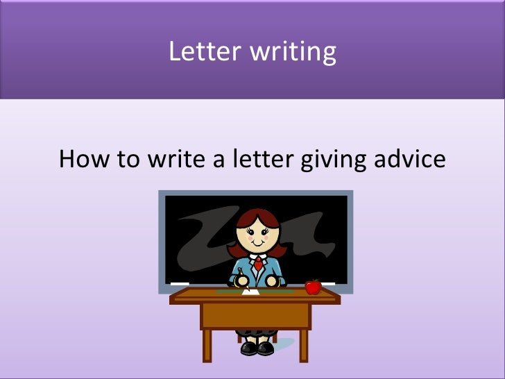 letter of advice to employee