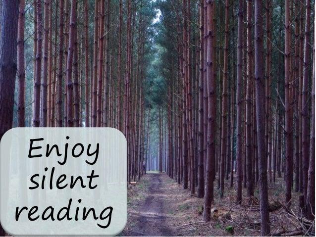 Enjoy silent reading