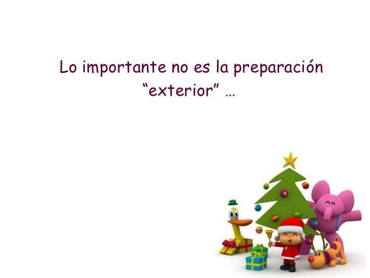"""<ul><li>Lo importante no es la preparación """"exterior"""" …   </li></ul>"""