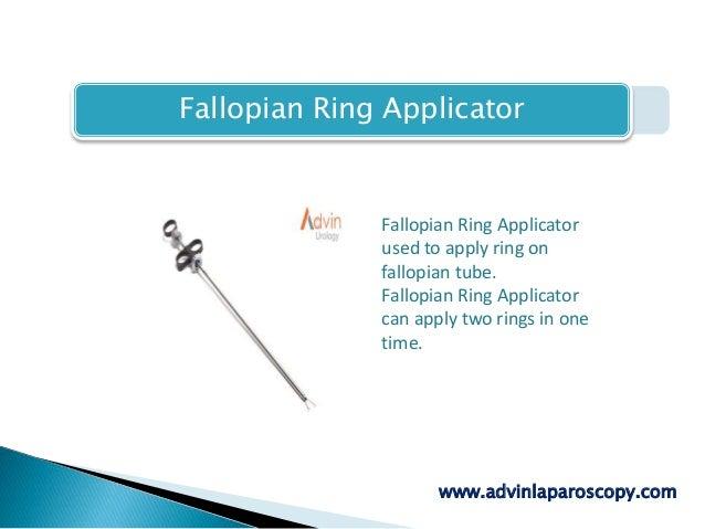 Fallopian Ring Applicator