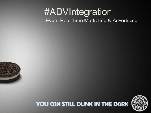 #ADVIntegrationEvent Real Time Marketing & Advertising